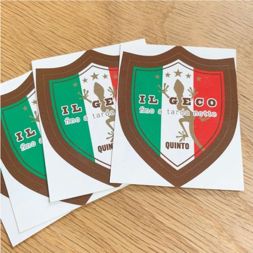 IL GECO:IL GECO 5周年ステッカー