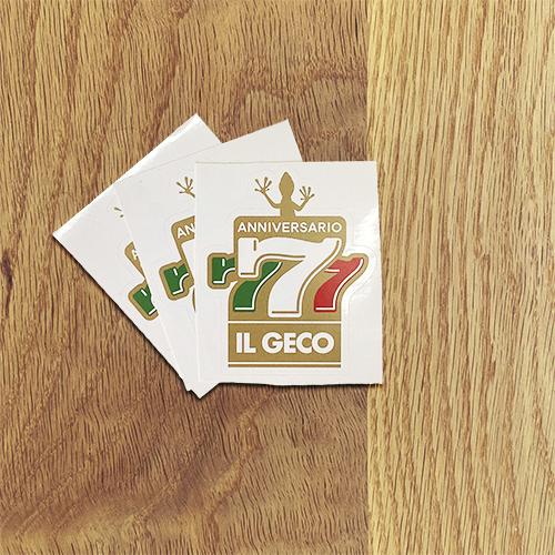 IL GECO:7周年ステッカー